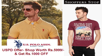 Shoppers Stop Offer on U.S. Polo Assn. Denim