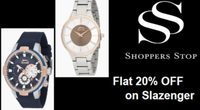 Shoppers Stop Offer on Watches