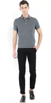 Slimfit Men's Black Trousers