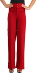 Slimfit Red Trousers