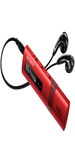 Sony Red Mp3 Player