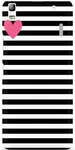 Stripes Designer Back Cover for Lenovo K3 Note