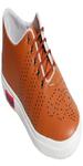 Tan PVC Casual Shoes