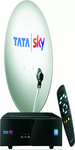 Tata Sky HD Box With 1 Year Pack