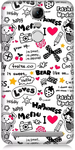 Text Print Back Cover for Lenovo Vibe K5 Note