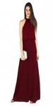The Roman Princess Maroon Dress