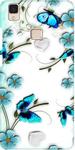 White Flower Print Case Cover for Vivo V3