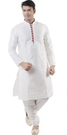 White Kurta and Pyjama