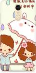 Xiaomi Redmi Note 3 Cute Painting Cover
