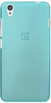 Blue Rubber Back Cover for OnePlus X