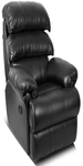 Black Leatherette Recliners