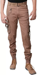 Brown Cargo Pants for Men