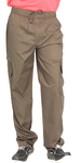 Brown Cotton Track Pant