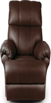 Brown Leatherette Recliners