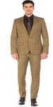 Brown Men's Suit