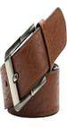Brown Non-Metal Belt