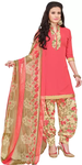 Floral Print Salwar Suit Dress Material