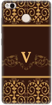 Golden Print Back Cover for Redmi 3s Prime