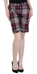 Multicolored Checkered Regular Shorts
