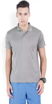 Polo Neck Grey Sports T-shirt