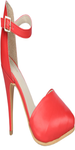 Red Heel Sandal