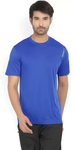 Round Neck Blue T-shirt
