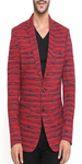 Stripes Print Blazer