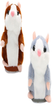 Taking Hamster (Set of 2) Funny Plush Interactive Sound